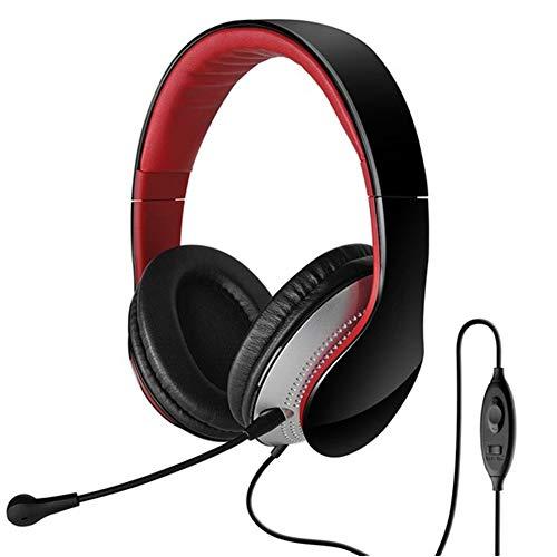 AJKFDJIL Ear Ohrhörer Headphones Comfort Stereo In-Ear Headphones Headband Belt Noise Isolation and Volume Control Comfort-stereo