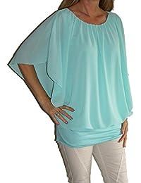 suchergebnis auf f r bluse mit fledermaus rmel damen bekleidung. Black Bedroom Furniture Sets. Home Design Ideas