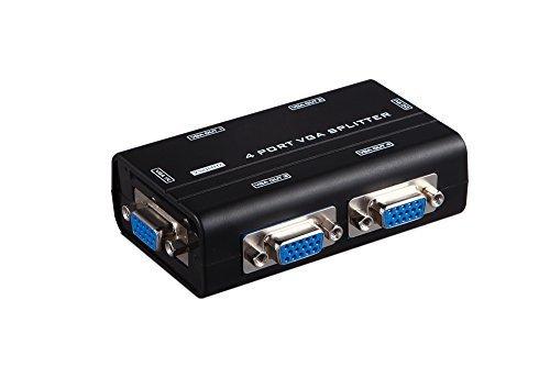 250 MHz distributore Video VGA Splitter 1 x 4 in 1 Out, supporta schermi LCD integrato - 4in 4 Out Video
