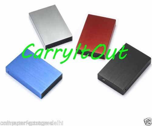 Terabyte TB-2.5 2.5-inch SATA Laptop Portable External Harddisk Case (Multicolor)