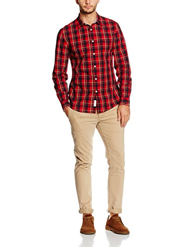Chemise Dockers Laundered Rouge Rouge