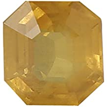 100% Natural Yellow Sapphire (Pukhraj/Guru) Certified Astrological Gemstone (3.37 CTS)