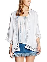 New Look Tufty Edge Kimono, Chaqueta para Mujer