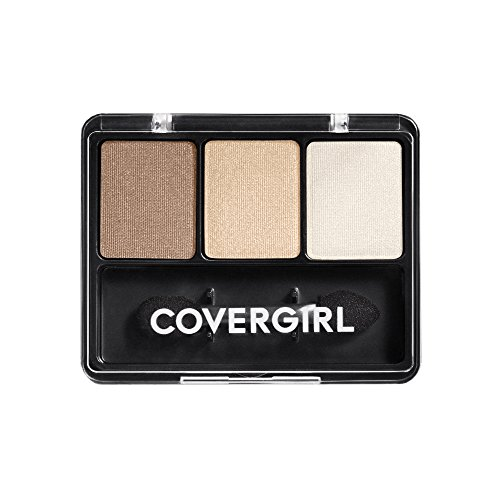 Covergirl Eye Enhancers-make-up (COVERGIRL Eye Enhancers 3-Kit Shadows - Cafe Au Lait 105)
