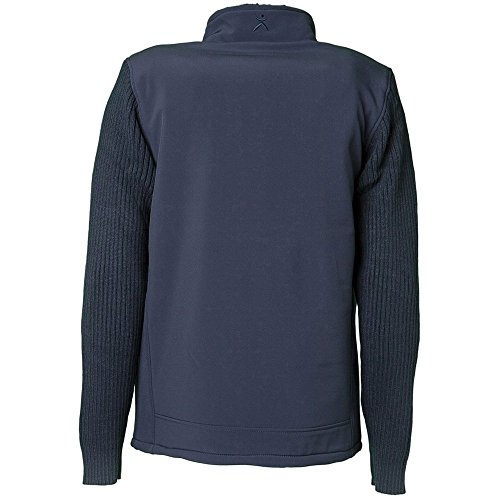 PLANAM Winter Fleece Jacke Freeze, wasserabweisend marine
