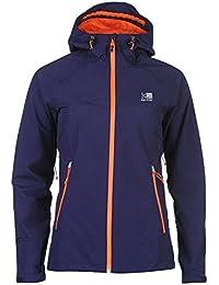 Karrimor Womens Ridge Jacket Waterproof Breathable Mesh Hooded Full Zip Top