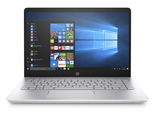 "HP Pavilion 14-bf008ns - Ordenador Portátil de 14"" Full HD (Intel Core i5-7200U, 8 GB RAM, 1 TB HDD, Intel HD 620, Windows 10); Plateado - Teclado QWERTY Español"
