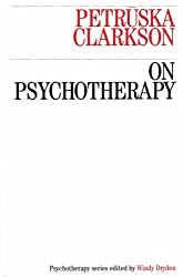 On Psychotherapy (Exc Business And Economy (Whurr))