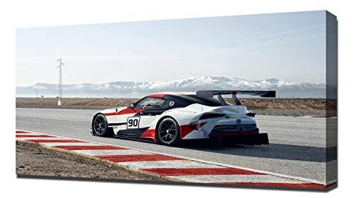 2018 Toyota GR Supra Racing Concept V7 - Stampa Artistica su Tela - Stampa Tela Canvas