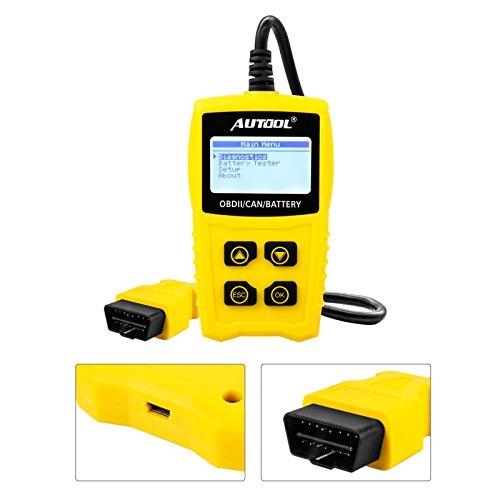 Auto Codeleser CS330 Scan für OBDII / EOBD / CAN Automotive Scanner Auto OBD2 Diagnose Tool Unterstützung Analysieren Autobatterie Spannung Genau - 3