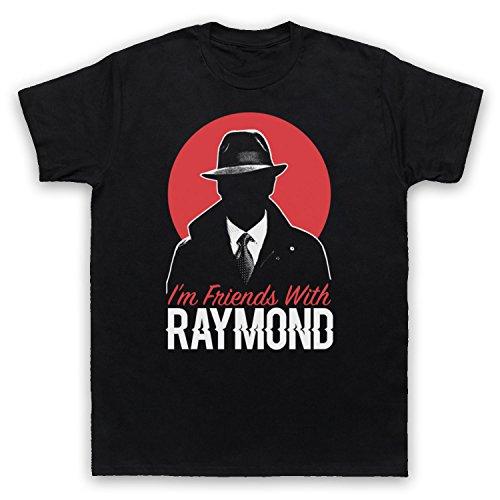 blacklist-im-friends-with-raymond-t-shirt-des-hommes-noir-xl