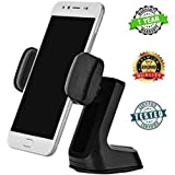 Stealkart Car Phone Holders Dashboard Z Shaped 360 Degree Rotation Car Phone Holder Stand With Suction Cup Compatible With All Mobile Phones And GPS Devices