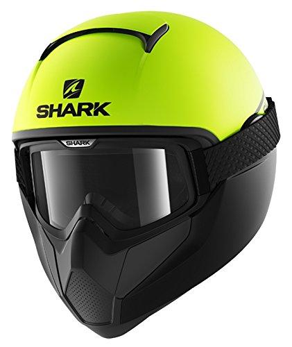 Shark casco integral VANCORE Street neón, negro amarillo, talla S