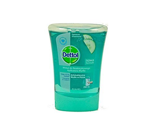 Dettol No Touch Hand Wash Refill Cucumber Splash 250 ML by Dettol