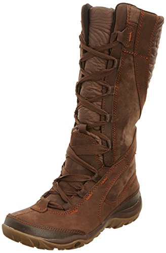 Merrell Dewbrook Peak Waterproof, Women's Snow Boots, Brown, 4 UK