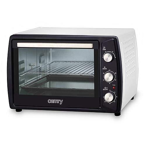 Camry CR-6007 - Horno de Sobremesa de Convección, Grande, 45 Litros, Ajuste de Temperatura de 90º...