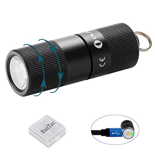 Key Bantac Flashlight Luxeon Torches With Rechargeable Tx Torch I1r Lumens Light Battery Tiny Eos 130 Olight Outdooramp; Led Home Ring Keychain For fbgYy76
