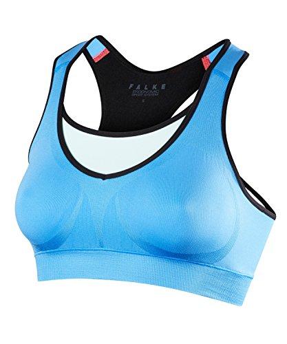 FALKE Damen Bra Top Maximum Support Control Sport-Bh Blue Note