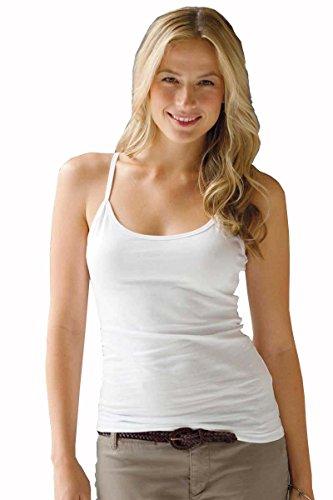 elegance1234 - Canotta -  donna White