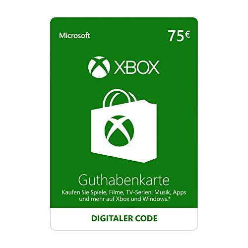 Xbox Live - 75 EUR Guthaben [Xbox Live Online Code]