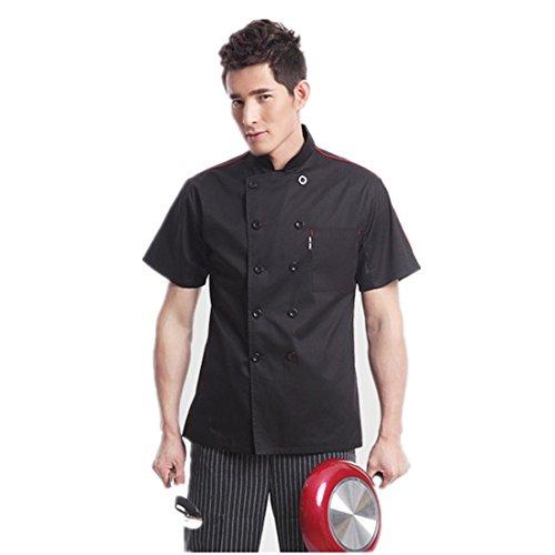 giacche-da-chef-manica-corta-nero