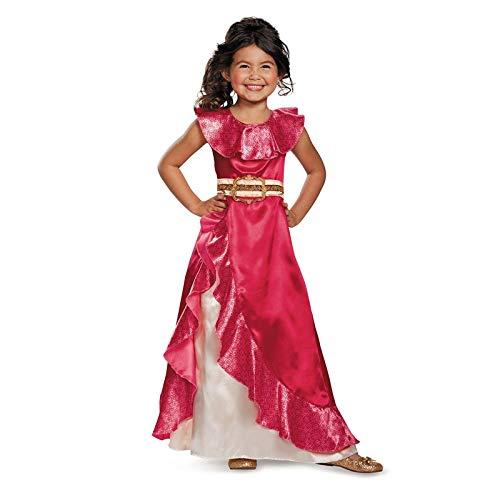 Zygeo - Mädchen New Favorite Latina Prinzessin Elena von TV Elena Von Avalor Abenteuer Weiter Kind Halloween-Kostüme [M]