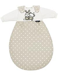 Alvi Baby-Mäxchen 3tlg. Super Soft Rabbit sandgrau 721-9