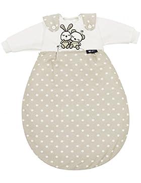 Alvi 721-9 Baby-Mäxchen 3-tlg. Super-Soft Rabbit sandgrau