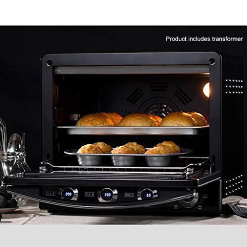 DWW 4 - Scheiben - Toaster - Ofen, Backsets, LCD - Anzeige, Edelstahl, Broil - Bake - Ferment - Warmmilch - Einstellungen, 2000W, explosionsgeschützte Tür, Grillrost, etc (Toaster Ofen-arbeitsplatte)