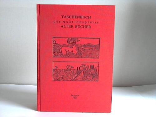 Taschenbuch der Auktionspreise alter Bücher: BD 12