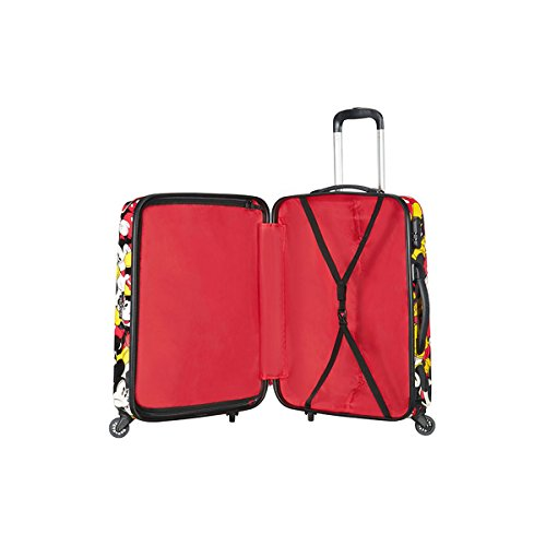 Samsonite American Tourister - Disney Legends Spinner 65 Alfatwist, Koffer, 65 cm, 52 L, Mickey Comics - 2