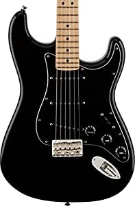 Guitares électriques FENDER AMERICAN LIMITED EDITION STRATOCASTER FSR '70S HARDTAIL MN BLACK Strato