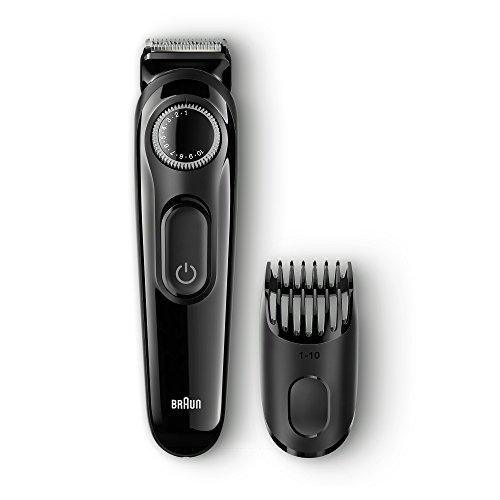 Braun BT3020 - Recortadora de barba recargable de precisión con 20 ajustes de longitud