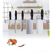 Soporte magnético para cuchillos, guarda cuchillos organizados de acero inoxidable Cuchillo magnético para filetes/cocineros / cuchillos para trinchar Cocina y barra (tamaño : 31cm)