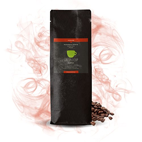 Green Cup Coffee Espresso Nagambika - fair gehandelte Arabica Espresso Bohnen - milder Premium...