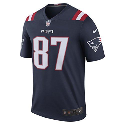 Nike NFL New England Patriots Color Rush Legend (Rob Gronkowski) Herren T-Shirt - - Rob Tshirt Gronkowski