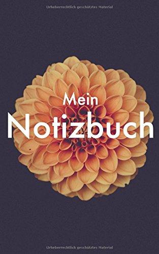 Mein Notizbuch: Exclusives Design mit Blume (Männer Fitness Magazin)