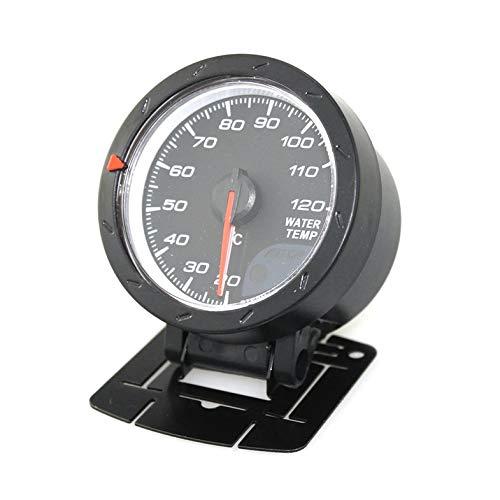 Universal Auto Öl/Wassertemperaturanzeige Temperatursensor Auto 60mm Rote LED Licht Fahrzeuge Temp. Meter Maschine