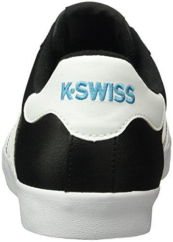 K-swiss Herren Belmont Così Basso-top Schwarz (nero / Bianco / Algeria Blu)