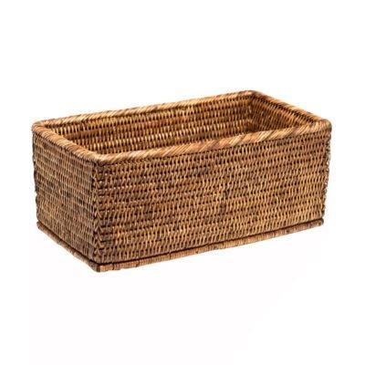 Basket Utensilienbox - Rattan braun