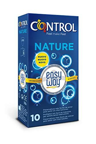 CONTROL Condones Naturaleza Easy Camino Per il Placer