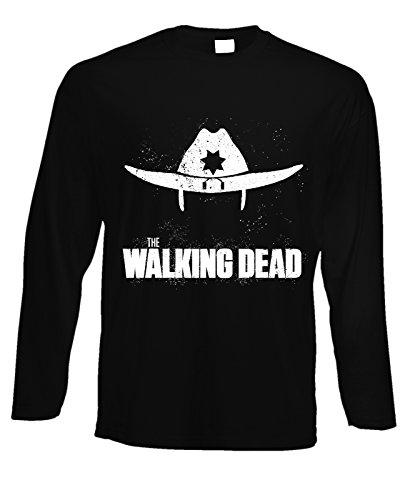 Tshirt a maniche lunghe walking dead zombie