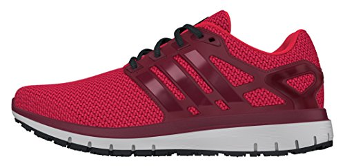 Adidas Energy Cloud Wtc, Scarpe da Corsa Uomo, Rosso (Ray Red/Collegiate Burgundy/Intense Red), 42 EU