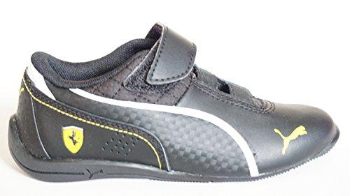Puma Ferrari Drift Cat 6 L SF V Kinder Schuhe,Schwarz Große: EUR 28 (Jungen Schuhe Die Großen Kinder Puma)
