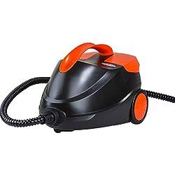 Tratamiento de formaldehído vapor limpiador de alta presión sin químicos con 5 piezas accesorios para eliminación de manchas, alfombras, cortinas, asientos de coche, cocina, baño, piso