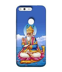 Fuson Designer Back Case Cover for Google Pixel (Bhagwan God Prabhu)