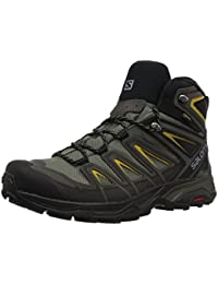 Salomon L40133700 X Ultra 3 Synthetic Hiking Boots, Adult (Grey)