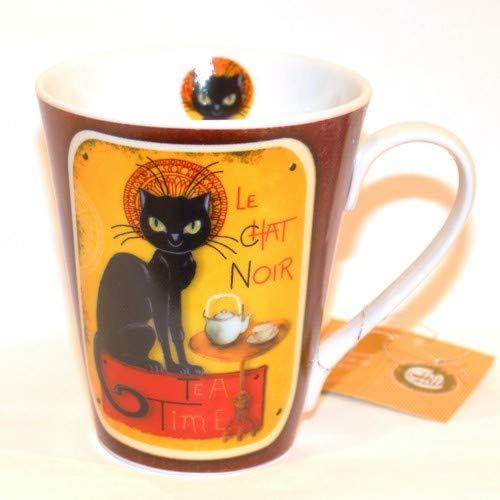 Cha Cult Tasse mug chat noir 0.3L