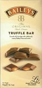BAILEYS Luxury Milk Chocolate Truffle Bar 90g, Ideal Christmas Stocking Filler