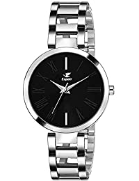 Espoir Analog Black Dial Women's Watch-ES-0780